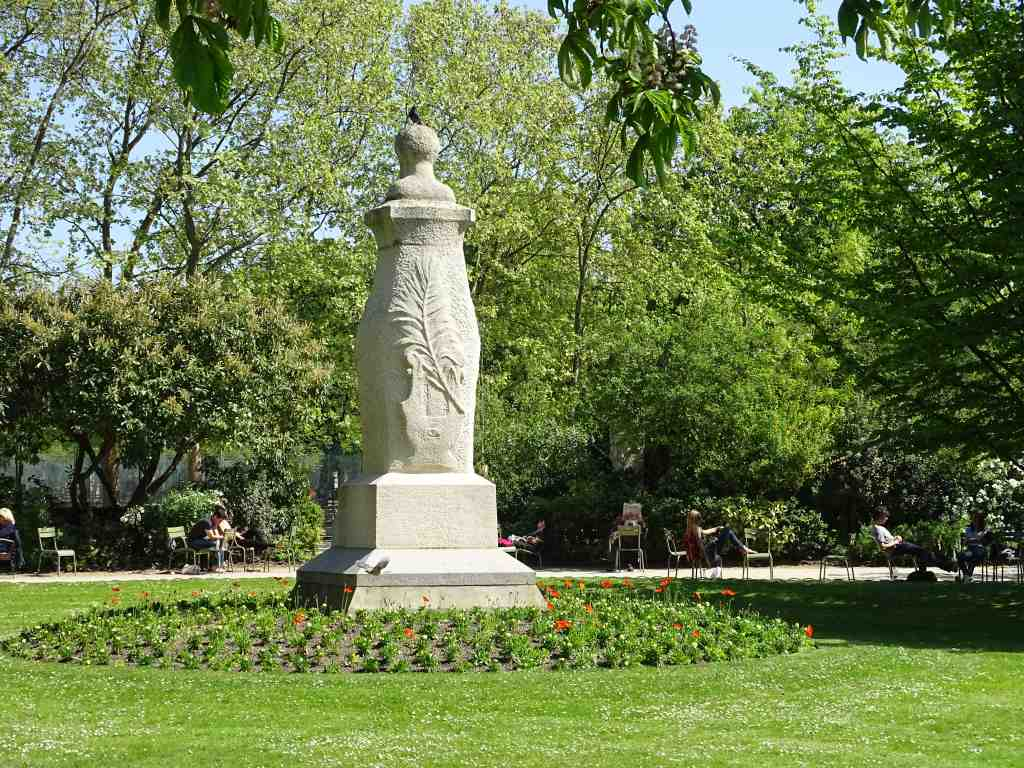 Jardin du luxembourg de la porte fleurus au s nat beaux for Au jardin du luxembourg