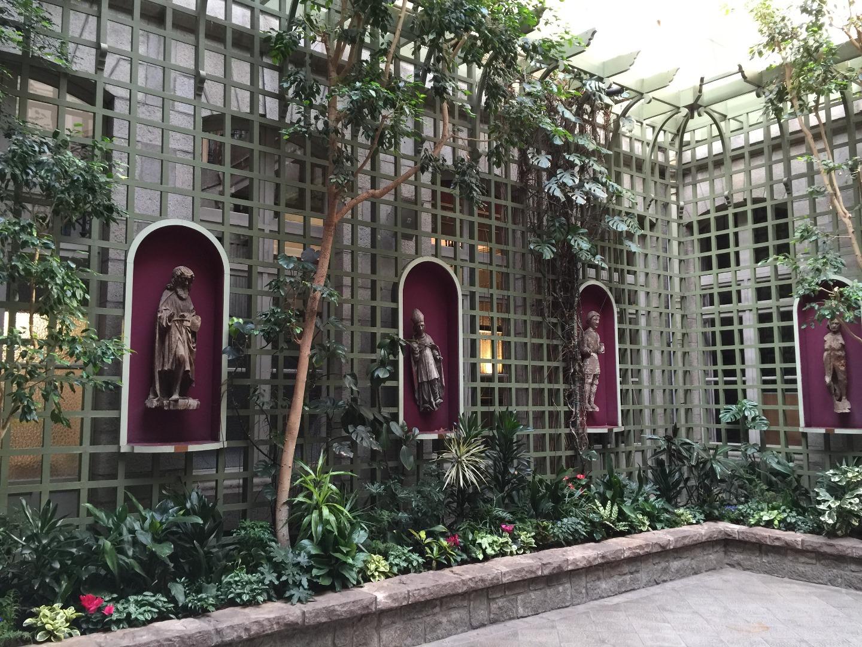 Le jardin d 39 hiver de la salle des mariages de la mairie de saint brieuc beaux jardins et potagers - Le jardin d hiver ...