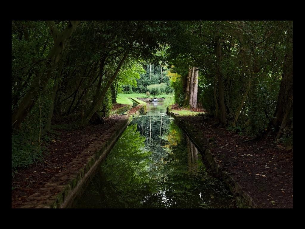 Parc du ch teau de courances cinq si cles d 39 histoire des for Boulevard du jardin botanique 20 22