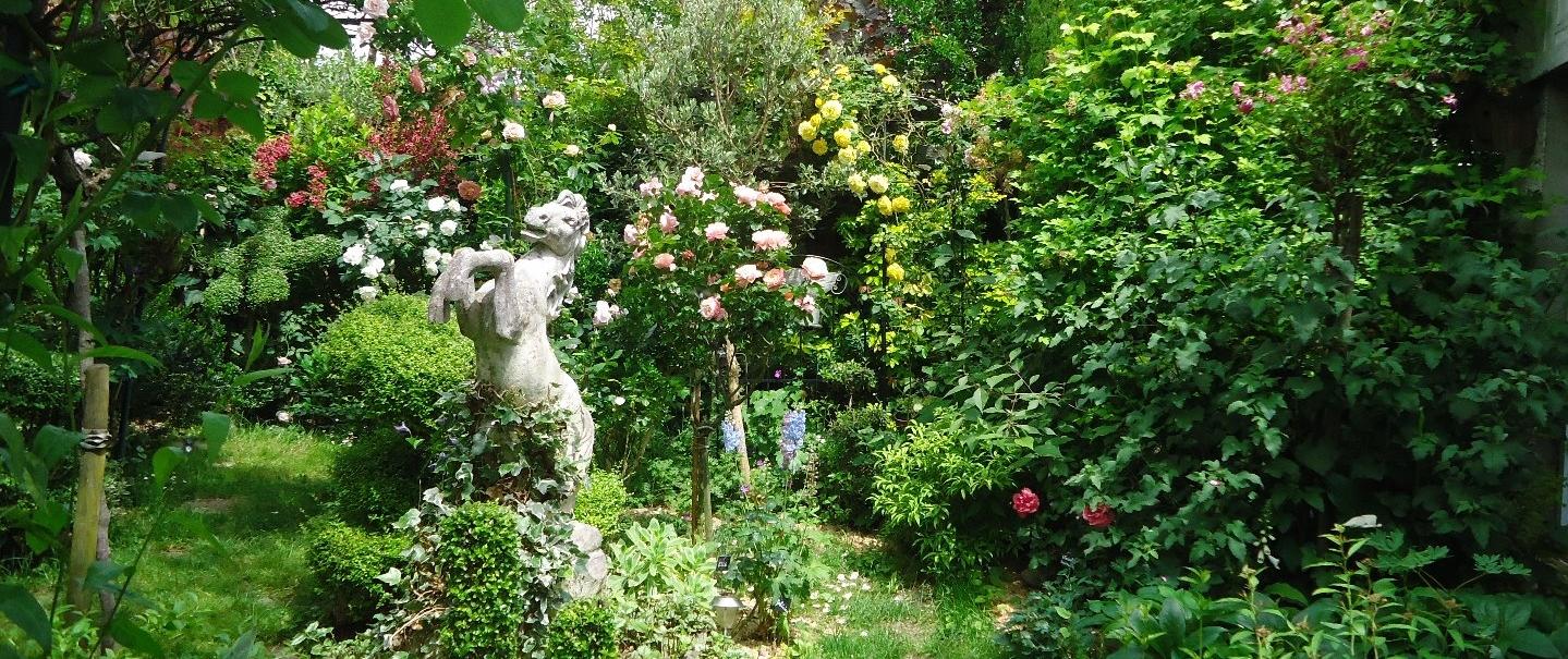 "Jardin ""Le Clos Fleuri"""
