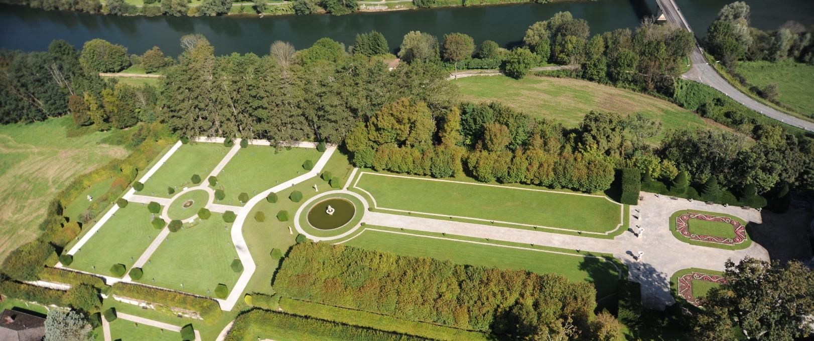 Jardins à la française du XVIIIème siècle