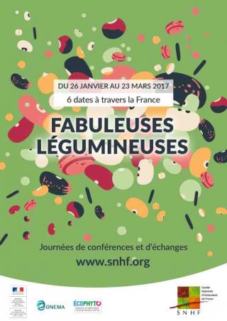six journées de conférences et d'échanges sur les « Fabuleuses légumineuses » en 2017